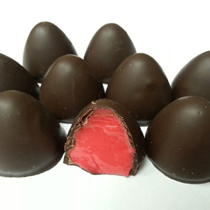 Black Cherry Dark Chocolate Drops