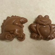 Frog or Dinosaur Peanut Butter Cups